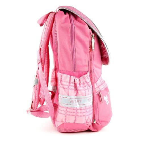 ... Školní batoh Barbie - Stříbrná silueta  Více fotografií. perfektní  dívčí batoh s klopnou a motivem panenky Barbie zdobený flitry ... 319278962d