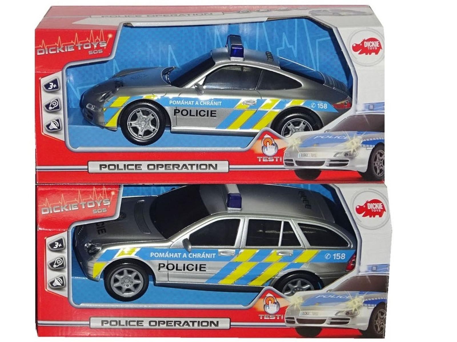 Dickie Policejní auto 1:18