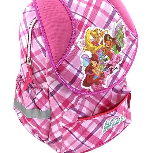 6d52402c6da Školní batoh Winx Club - Růžové kostky ...