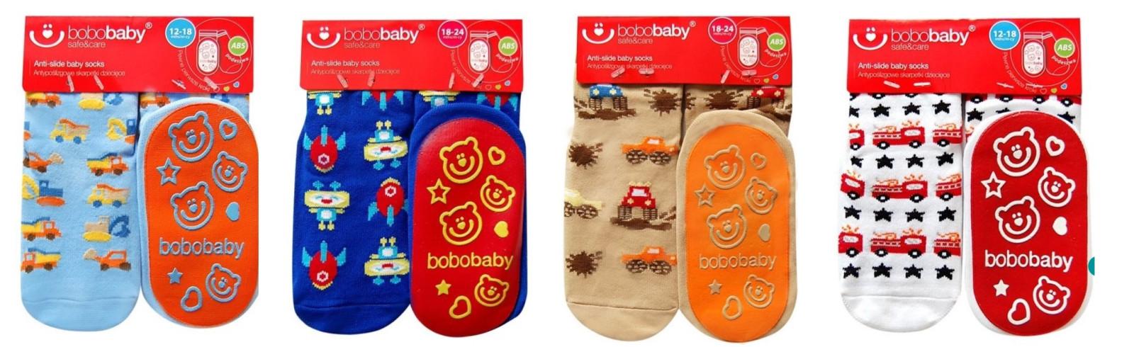 Kojenecké ponožky s protiskluzem 18 - 24 m  29e080f220