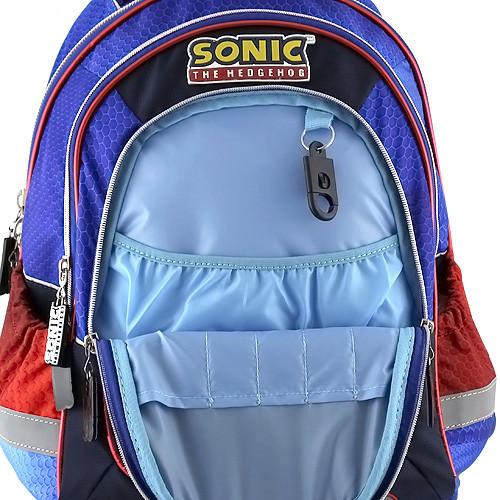 18f61f2e742 ... Školní batoh Sonic - Modro-černý ...