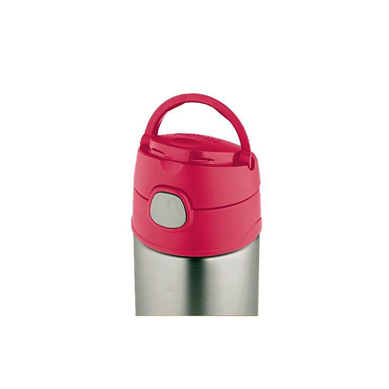 Dětská termoska s brčkem 470ml - růžová  Dětská termoska s brčkem 470ml -  růžová. Nerezová vakuově izolovaná termoska pro děti ... 43babb310b5