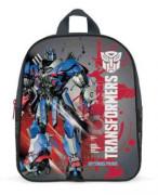 Dětský předškolní batoh Transformers šedo-červený