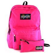 Studentský batoh Smash Tmavě růžový