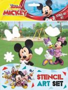 Zábavné šablony - Mickeyho klubík