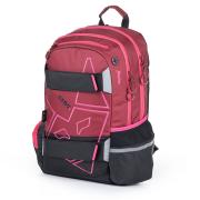 Studentský batoh OXY Sport Fox red