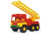 Auto middle Truck hasiči plast 47cm Wader