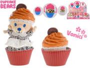 Cupcake medvídek plyšový vonící 10 cm