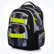 Studentský batoh OXY Style Dark camo