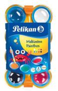Vodové barvy dětské - 8 barev Pelikan