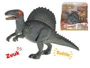 Dinosaurus Spinosaurus 24 cm na baterie se světlem a zvukem