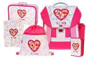 Školní batohový set LOVE 5-dílný, Emipo
