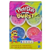 Play-Doh Barevné balení modelíny Růžová/modrá/zelená