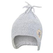 Čepice pletená na uši Outlast ® - sv.šedá