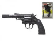 Pistole - Kapslovka Buddy s tlumičem 23 cm 12 ran