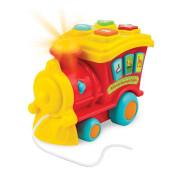 Edukační lokomotiva 21 cm se světlem a zvukem zvířátek