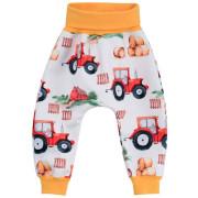 Dětské softshellové kalhoty Traktor