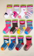 Kojenecké ponožky protiskluzové PD0120 12 - 18 měs. Pidilidi