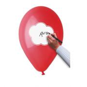 Latexový balónek Napiš vzkaz! 30 cm mix barev 10 ks v balení