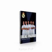 Kroužkový blok A4 Soft Real Madrid