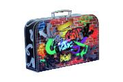 Dětský kufřík 35 cm Grafiti