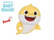 Baby Shark 17cm plyšový na baterie se zvukem žlutý