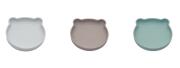 Silikonový talíř s přísavkou Bear