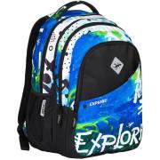 Školní batoh 2v1 DANIEL Ocean
