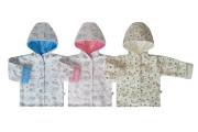 Bavlněný oboustranný kabátek s kapucí Sovy Baby Service