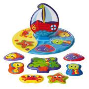 Plovoucí puzzle do vany Playgro