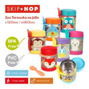 Termoska na jídlo s vidličkou SKIP HOP Zoo