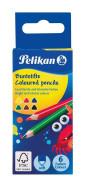 Pelikan - Pastelky 6 barev trojhranné