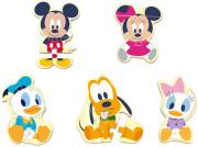 Disney Dřevěné puzzle Mickey a přátelé