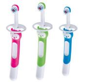 Mam Training Brush - dětský zubní kartáček 5m+ s bezpečnostním krytem