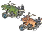 Motorka dinosaurus 11 cm na setrvačník