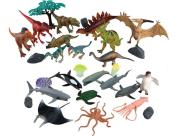 Zvířátka - dinosauři + mořská 30 ks, mobilní aplikace pro zobrazení zvířátek