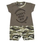 Kojenecký letní overal New Baby Army boy