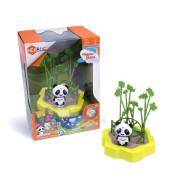 Malý set HEXBUG Lil Nature Babies - Panda Lin a houpačka