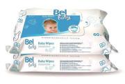 Bel Baby vlhké utěrky 60 ks + 60 ks duopack