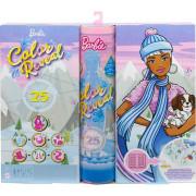 Barbie Color reveal adventní kalendář HBT74