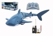 Žralok RC plast 35cm na dálkové ovládání +dobíjecí pack v krabici