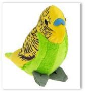 Plyšový papoušek 12 cm