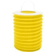 """Lampion dekorační ,,válec"""" žlutý"""
