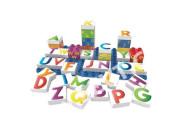 BiOBUDDi stavebnice Learning Letters Young Ones písmena 35ks + 1ks základní deska 18m+ v k