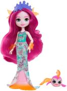 Enchantimals Panenka a zvířátko DVH87 Maura Mermaid a Glide
