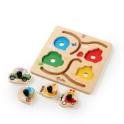 Hračka dřevěná puzzle Paths to Adventure HAPE 12 m+