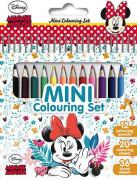 Mini blok s pastelkami - Minnie