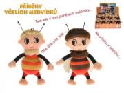 Příběhy včelích medvídků zpívající Čmelda či Brumda 15 cm