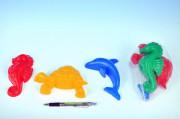 Formičky Bábovky zvířátka na písek 3ks