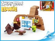 EDUKIE stavebnice Angry Birds výpočetní středisko 199 ks + 2 figurky
